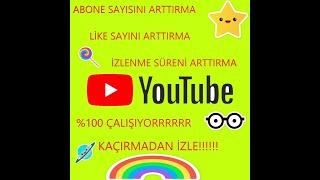 Youtube Abone Hilesi ABONE ARTTIRMA,İSPATI AÇIKLAMADAKİ LİNKTE indirme linki açıklamada