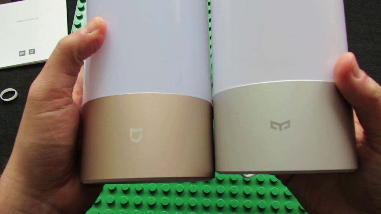 Xiaomi Connection Mjctd01yl Lamp Mijia Control And Bedside Bluetooth Wifi Unboxing Ybgf76vy