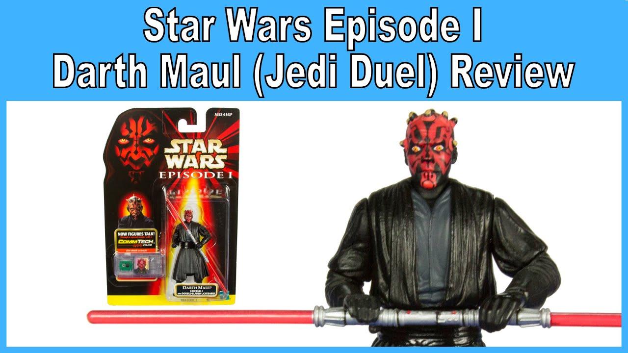 Star Wars Episode 1 Darth Maul Jedi Duel LOOSE COMPLETE MINT