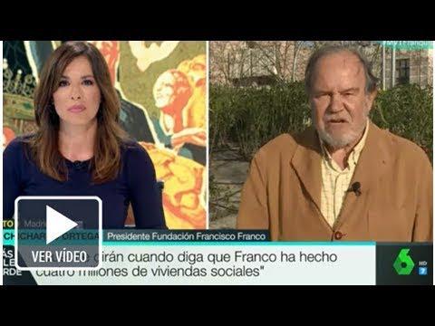 La inc�moda pregunta de Mamen Mendiz�bal al presidente de la Fundaci�n Francisco Franco