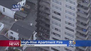 San Francisco Fire Crews Contain 3-Alarm Fire At Downtown Apartment Complex