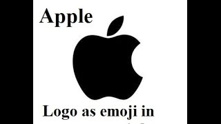 Gambar cover How to use apple logo as emoji in text messages , whatsapp, facebook status in iphone