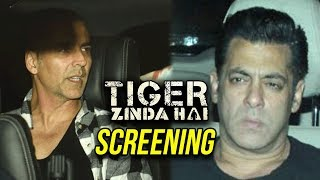 Akshay Kumar Watches Salman Khan's Tiger Zinda Hai