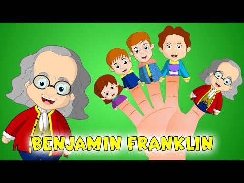 Benjamin Franklin Finger Family Song   Historic Finger Family for Kids