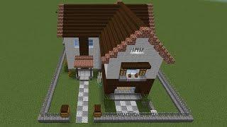 【Minecraft】初心者でバニラでもオシャレな家を作りたい Part1 ゆっくり実況 thumbnail