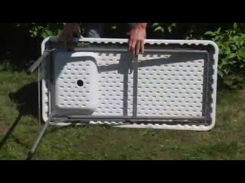 Portable Camp Fish Game Cleaning Table with Faucet - YouTube
