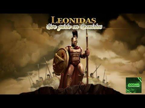 Live гайд на Леонидаса | Leonidas build+gameplay | Heroes Evolved