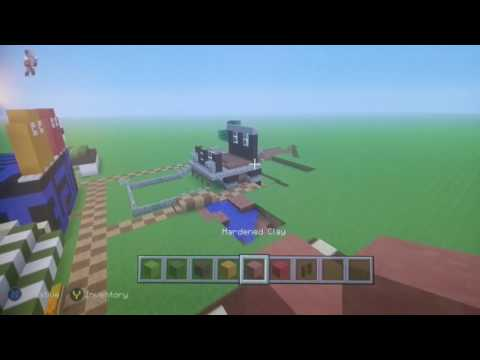 Minecraft How to build TheLCFPros Food store!!!