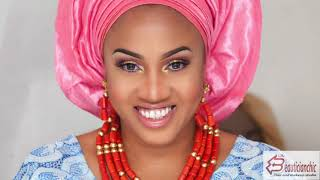 STEP BY STEP HOW TO TIE NIGERIAN YORUBA GELE TUTORIAL FOR BELLA NAIJA WEDDINGS |THE BEAUTICIANCHIC