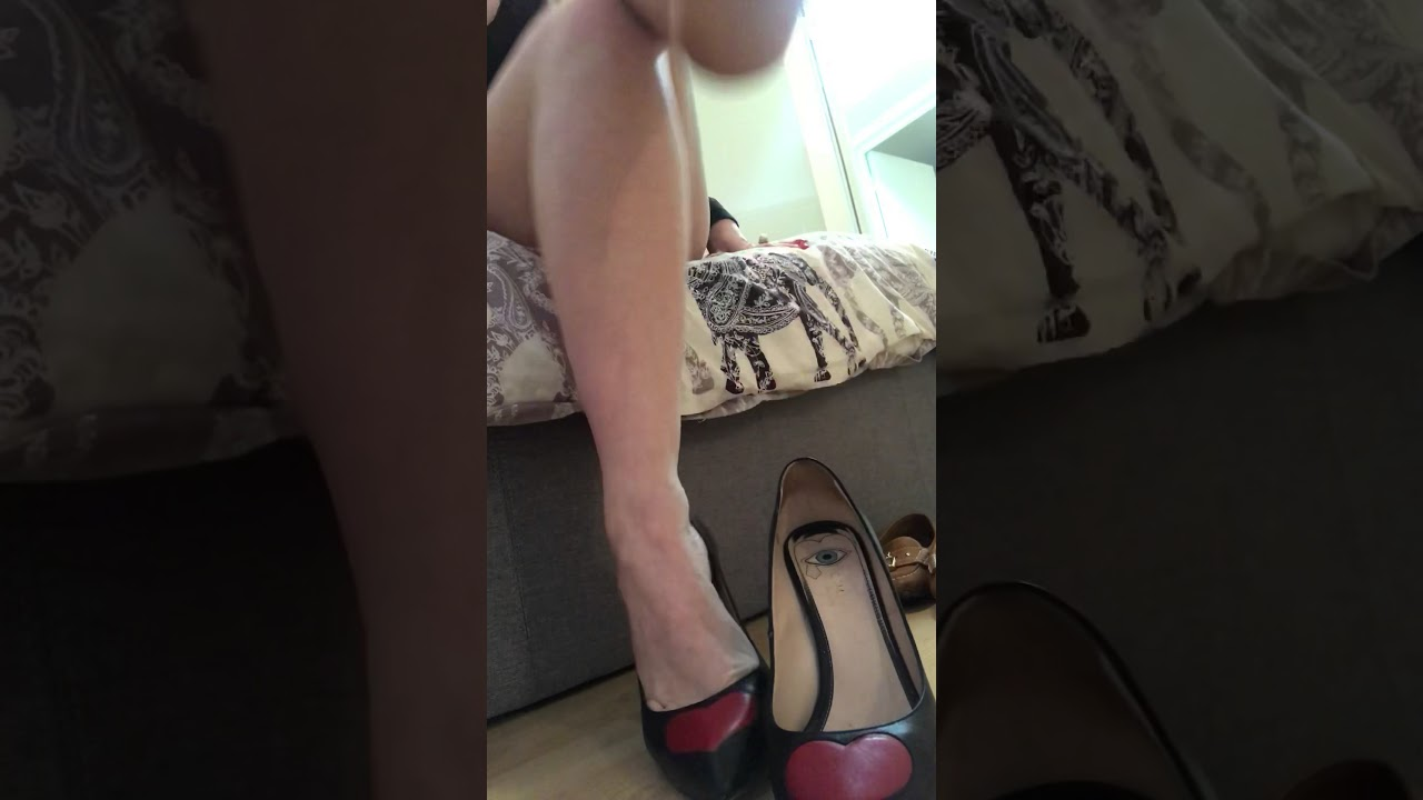 Cleaning my feet after wearing my Gucci shoes (part 2)