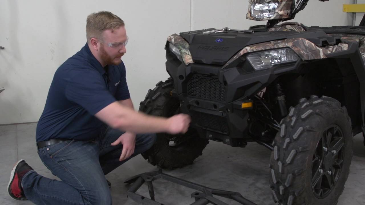 Sportsman® Ultimate Series | Front Bumper Install | 1000/850SP/850