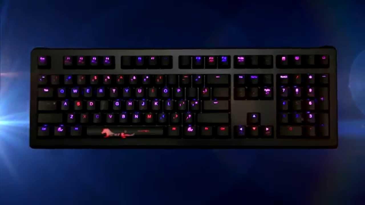 5777cf7366 Ducky Shine 4 Mechanical Keyboard Video (Cherry Switch) - YouTube