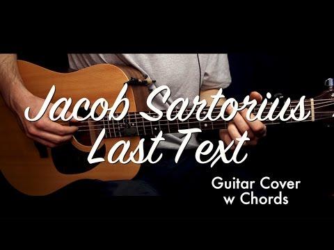 Jacob Sartorius Last Text Guitar Coverguitar Lessontutorial W