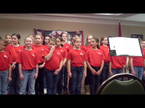 Chattanooga Girls Choir - Cantilena - Morning Pointe - December 1, 2014