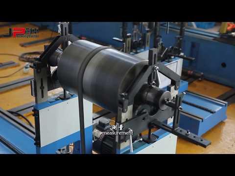 PHQ-500 Belt Drive Balancing Machines Calibration Process