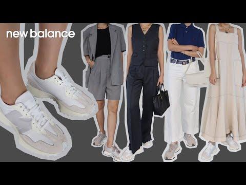 [딘디픽] 뉴발란스 327 우먼스 그레이, 화이트 운동화와 함께한 6가지 코디 그리고 사이즈 팁까지! NEW BALANCE 327 (6 outfits & size tip!)