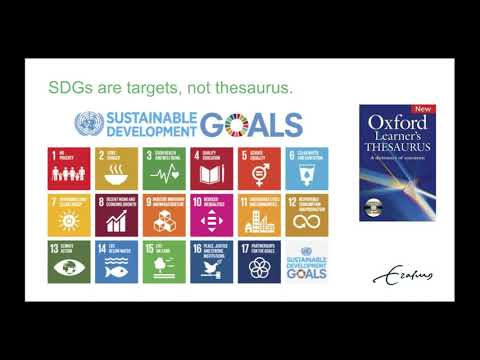 Training webinar: Open and Transparent Identification of SDG