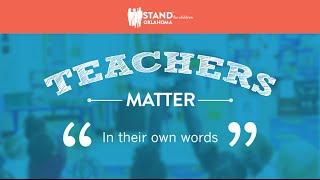 Teachers Matter: In Their Own Words