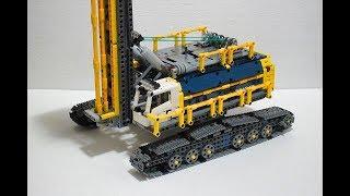 Lego Technic Heavy Drill Rig- 42055 C model