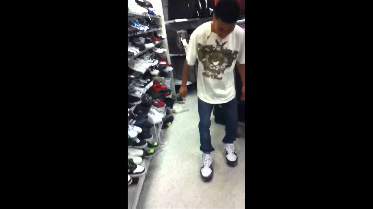 Big Ass Shoes At Ross - Youtube-4124