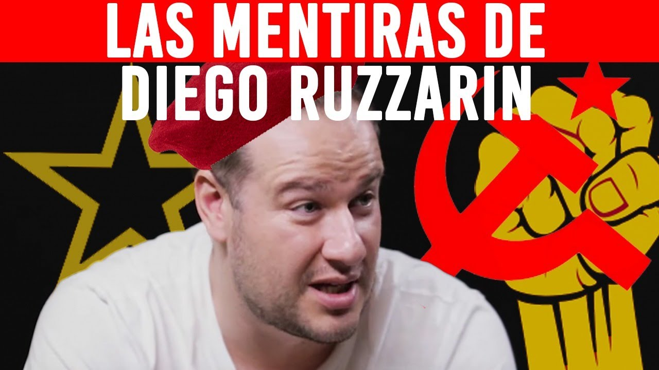 DIEGO RUZZARIN: Desmontando las MENTIRAS del Filosofo COMUNISTA que Gano el DEBATE a Carlos Muñoz