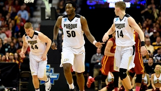Second Round: Purdue outmuscles Iowa State