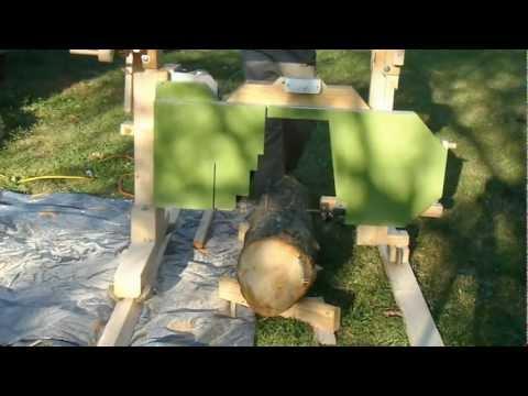 Homemade-sawmill
