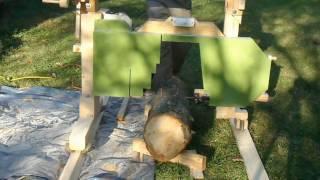 Homemade Sawmill