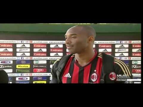 Kobe Bryant - Intervista in Italiano per Milan Channel - Nba Ita - The Black Mamba