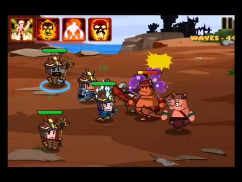 Heroes Vs Monsters SURVIVAL (Waves 41-50)