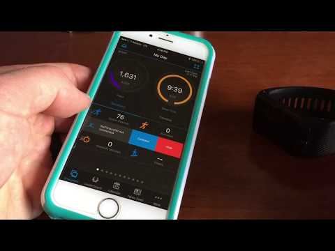 How To Pair Vivoactive Hr With IPhone