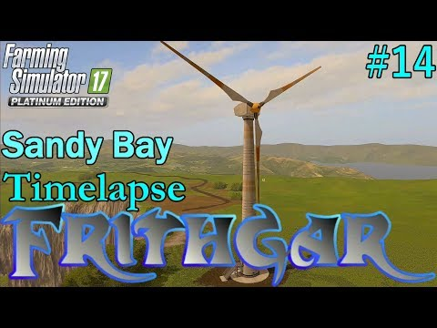 FS17 Timelapse, Sandy Bay #14: The First Windmill!
