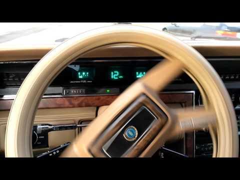 Test Drive 1983 Lincoln Continental Velentino Designer Series BID TO WIN!