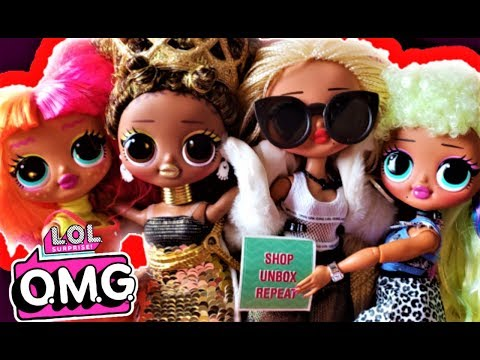 LOL Surprise OMG Fashion Dolls 2019 Makeover And Boxy Girls Unboxing