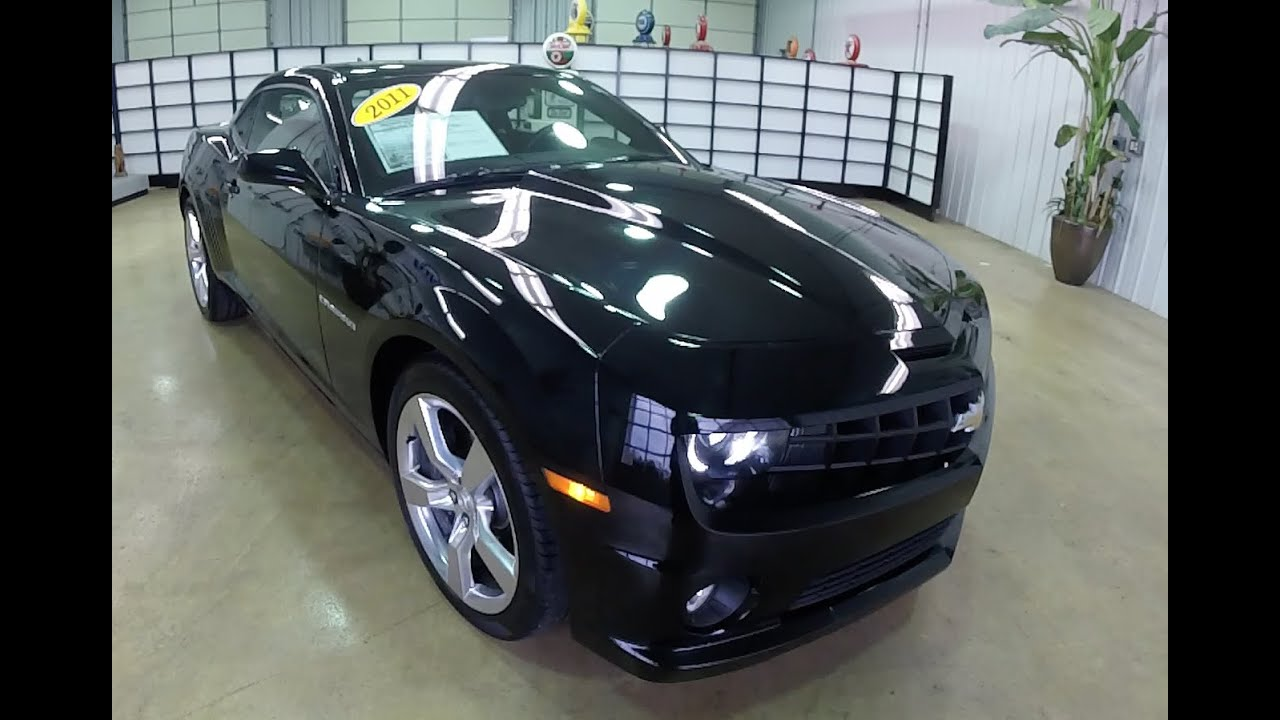 2011 Chevrolet Camaro SS Black   Leather Seats   Automatic Transmission    17709A