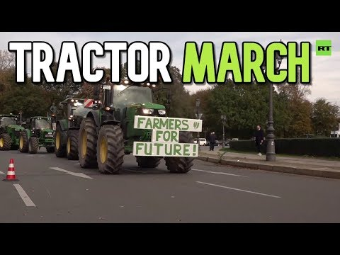 Tractor march: German farmers protest new EU eco-rules and agricultural policies