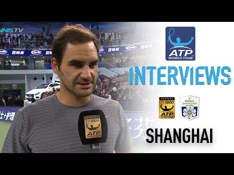 Federer Reacts To QF Win Over Gasquet Shanghai 2017