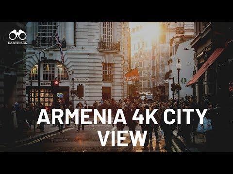 Armenia City View 4K  Visit Armenia On Visa Arrival  Explore Armenian Culture