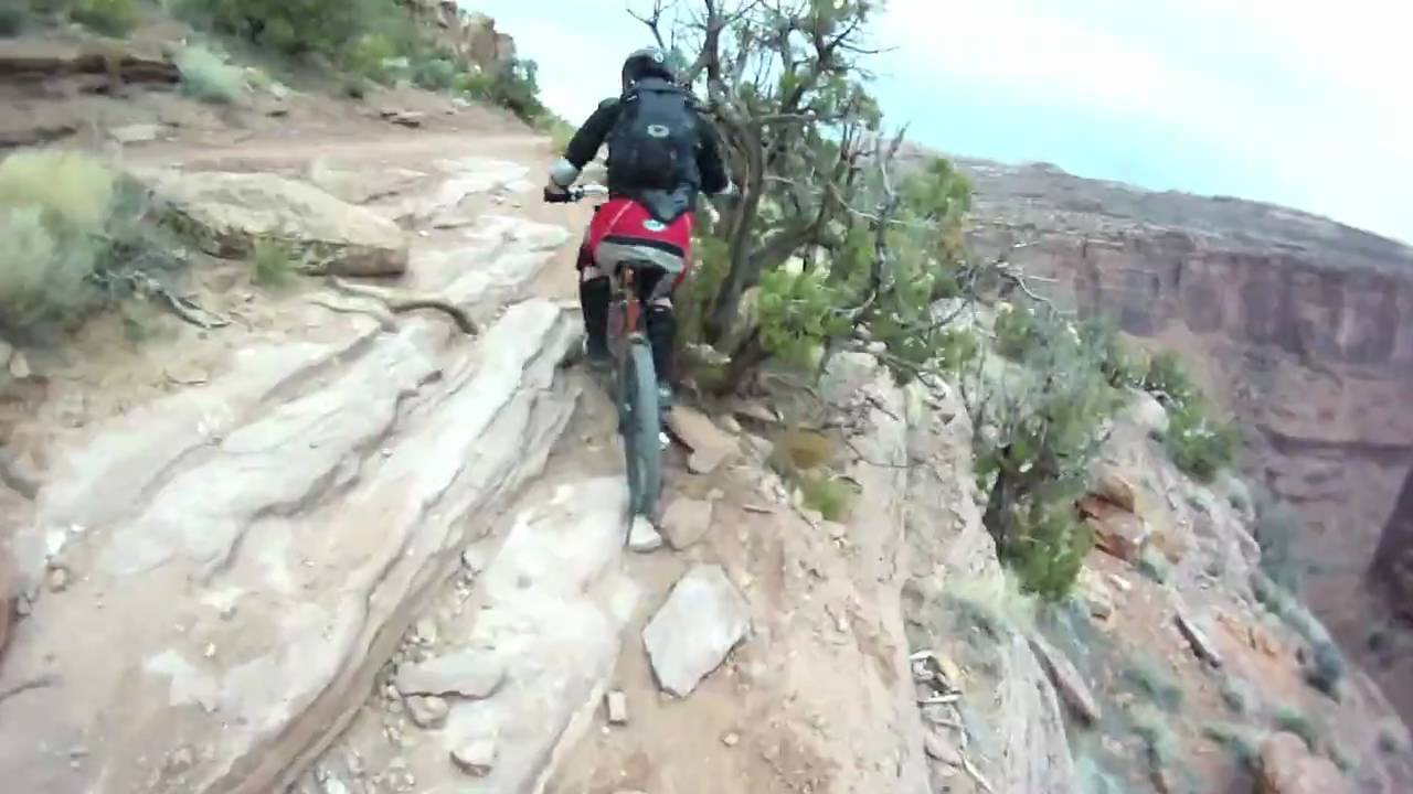 porcupine rim bike trail moab utah youtube
