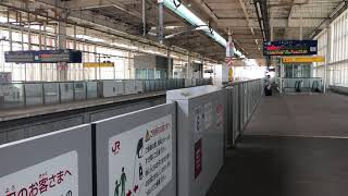 九州新幹線 筑後船小屋駅 通過