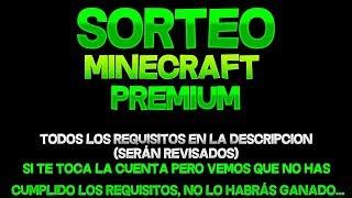 Sorteo De Una Cuenta De Minecraft Full Acceso! Especial 230 SUB!