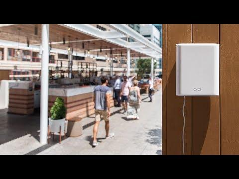 .NETGEAR 戶外型 Orbi ,讓 WiFi 使用範圍由屋內擴展到室外空間
