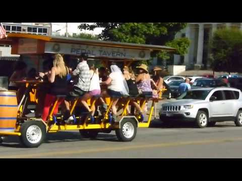 Nashville's Pedal Powered Bar