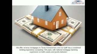 Texas Reverse Mortgage Lenders