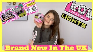 BRAND NEW LOL Surprise Lights Series Glitter Doll Pets Glow In The Dark Unboxing | Bella Mix