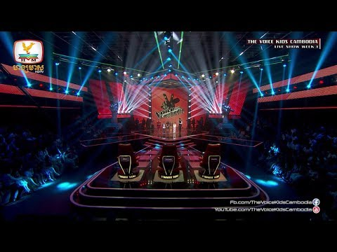 Result (Live Show Week 1 | The Voice Kids Cambodia 2017)