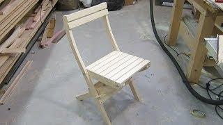складной стул, табурет своими руками