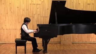 Bon-hwi   kim. f.j. Haydn sonata in E flat major,hob, xvl 52 1st,2nd,3rd mvt. 김본휘