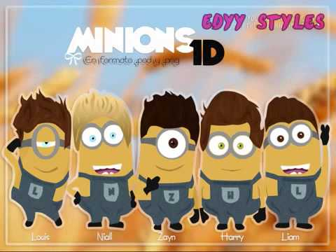 One Direction   Midnight Memories Minions Version