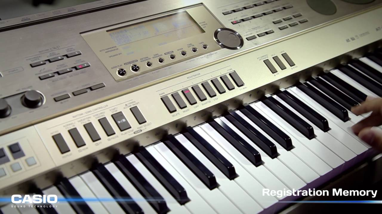 how to use casio keyboard